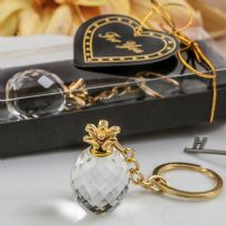 Choice Crystal Pineapple Key Ring Favour